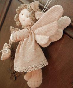 Сшитая кукла-ангелочек
