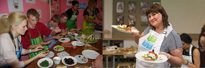 Совместное кулинарное творчество