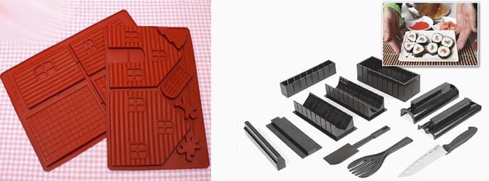 Наборы для сушей и силиконовые формы для выпечки