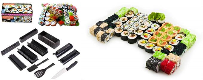 Набор для приготовления суши и разновидности суши