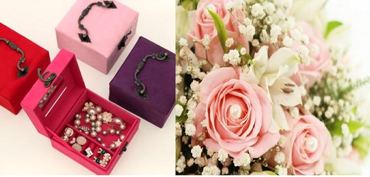 Украшения и цветы в подарок