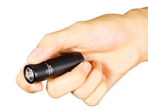 Компактный фонарик для женской сумочки