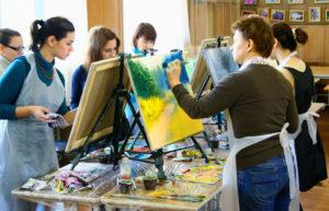 Мастер-класс по урокам рисования
