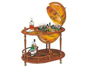 Мини-бар в виде глобуса