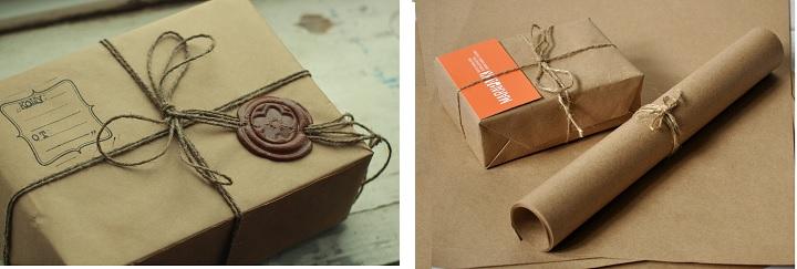 Упаковочная бумага и сургуч