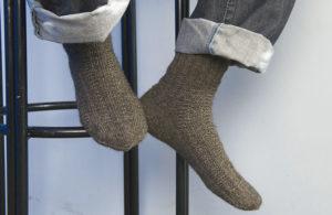 Связанные собственноручно носки