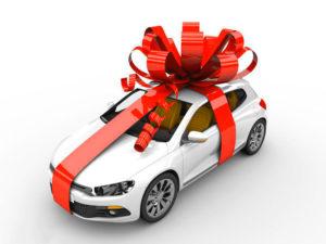 Новенький автомобиль в подарок