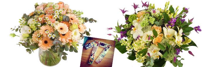 Необычные оригинальные букеты цветов