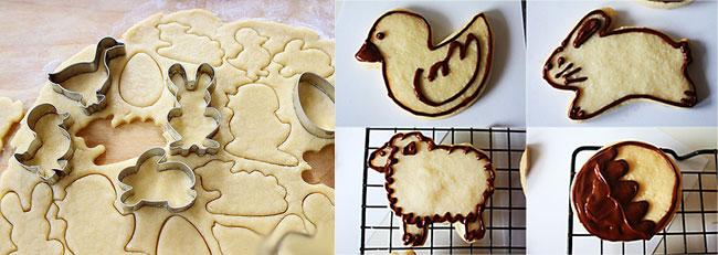 Домашнее печень в форме животных