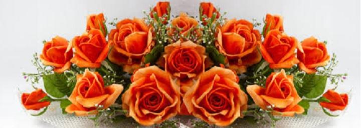 Подарок для друга - оранжевые розы