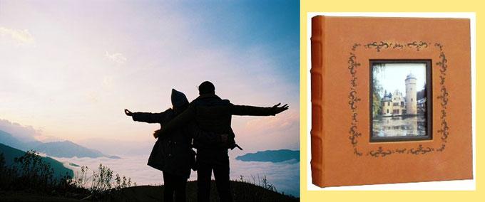 Путешествие вдвоем и стильный фотоальбом