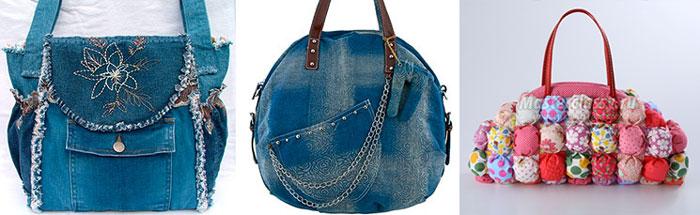 Самодельные женские сумочки