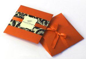 Пакет-конверт в подарок