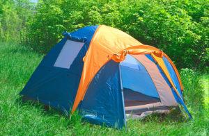 Трехместная палатка в подарок