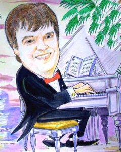 рисунок пианиста