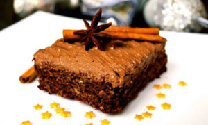 "Рождественский пирог ""Брауни"""