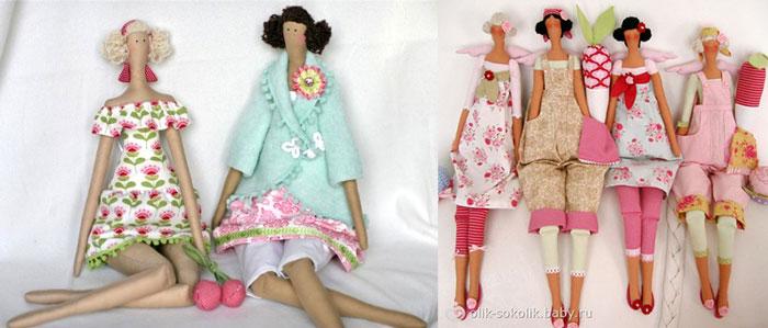 Самодельные куклы тильда