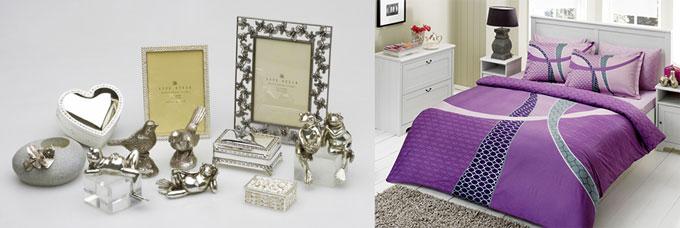 Оловянные сувениры и постельное белье