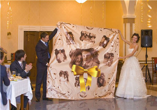Постер из фото на свадьбу