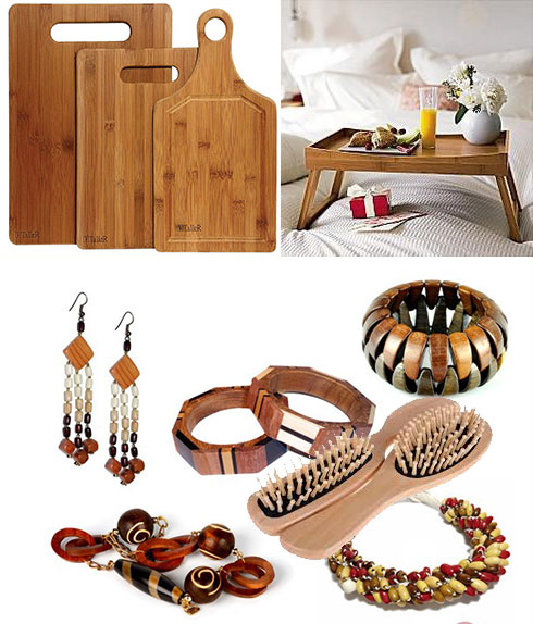 Кухонные доски, деревянные: столик для завтраков и украшения