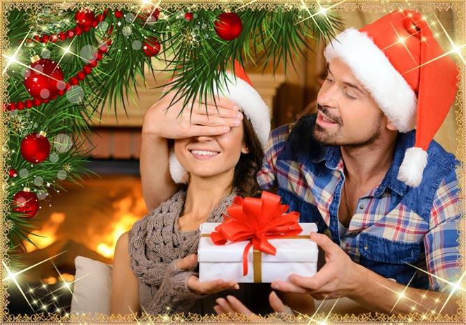 Новогодний подарок жене