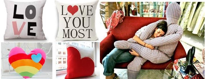 Варианты декоративных подушек мужу