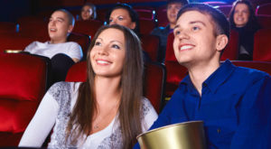 Поход в кино на первом свидании