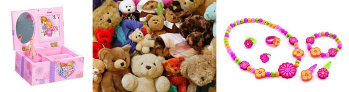 Музыкальная шкатулка детям, мягкие игрушки, детская бижутерия