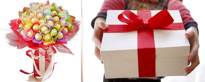 Букет из конфет и дарить подарок