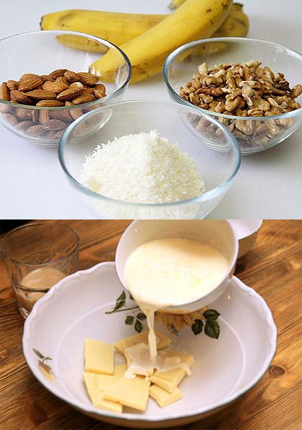 Ингредиенты для рафаэлло