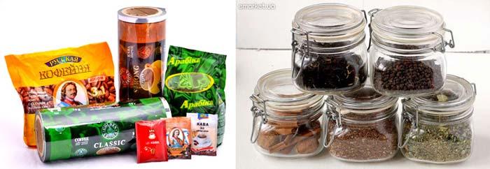 Чаи в банках и набор чая и кофе