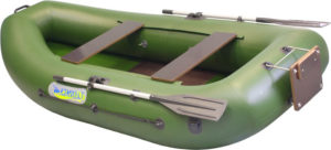 Резиновая лодка в подарок