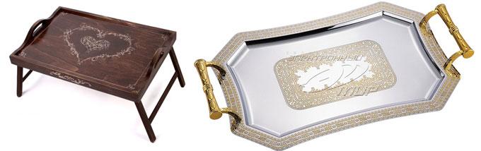 Поднос и столик для завтраков в постель