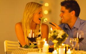 Романтический вечер вдвоем на годовщину отношений