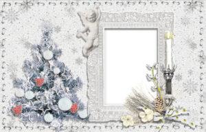 Рождественская фоторамка