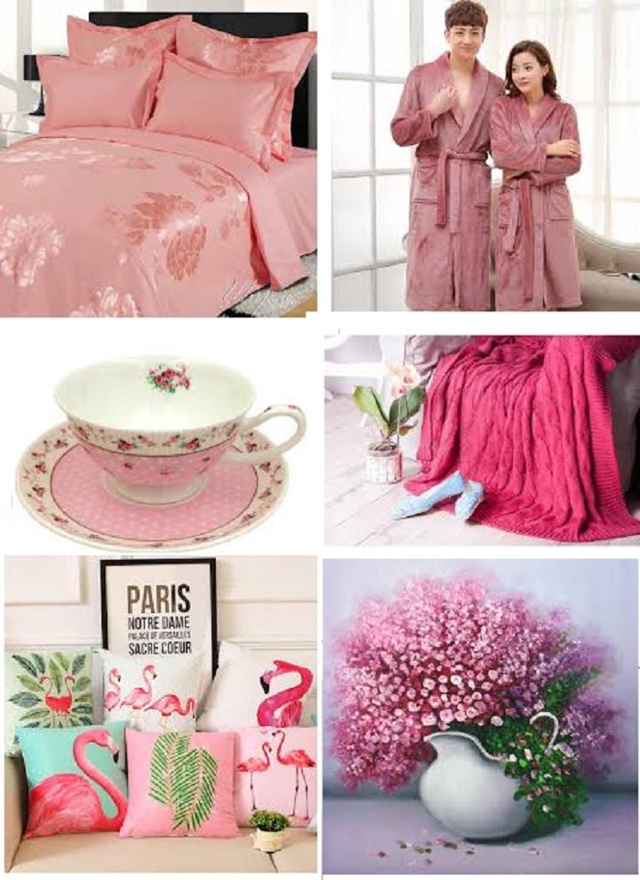 Вещи на розовую свадьбу