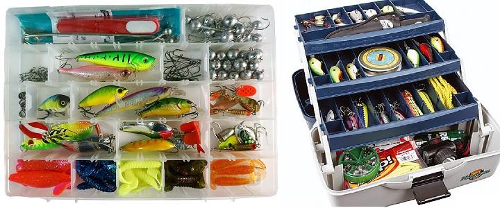 Набор всякой всячины для рыболова