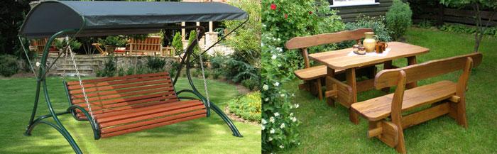 Садовые качели и мебель