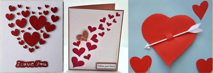 Валентинки рисунки бумажные