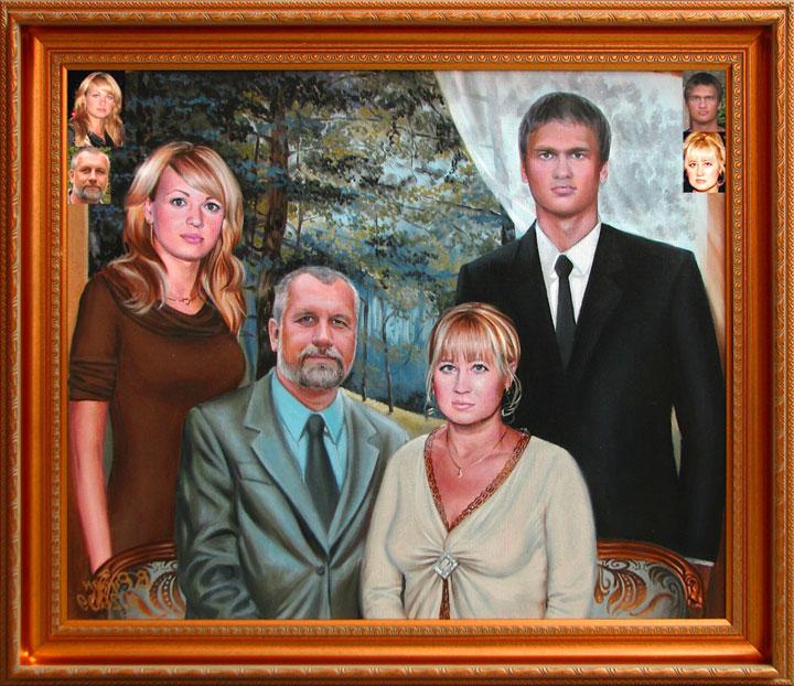 красноярске фотомонтаж моя семья шубки всегда