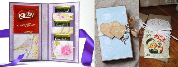 Самодельные шоколадницы