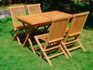 Складная мебель для сада