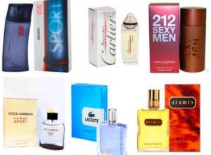 Выбор мужских спорт ароматов