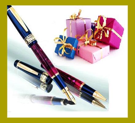 Подарки и авторучки
