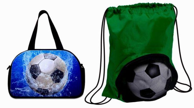 Две сумки: для вещей и для обуви