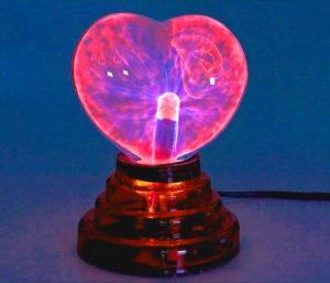 Плазменный светильник любви