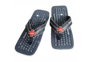 Тапки в виде клавиатур