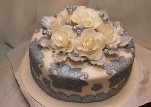 Торт на никелевую годовщину свадьбы