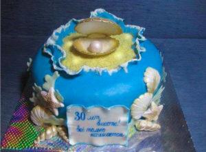 Тематический торт на годовщину