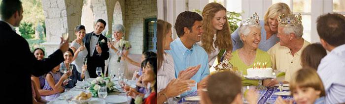 Семейные праздники рубиновой свадьбы